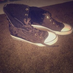 Coach High Top Sneakers
